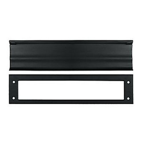 Deltana MS0030U19 Mail Slot, HD, Paint Black (Each)