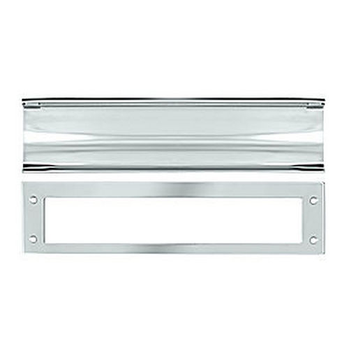 Deltana MS0030U26 Mail Slot, HD, Chrome (Each)