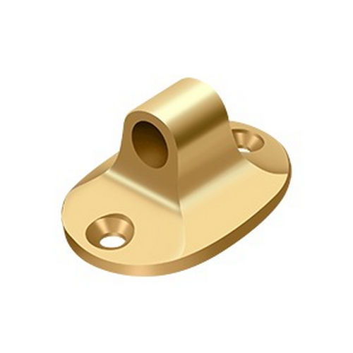 Deltana CHEBCR003 Cabin Hook Eye for Chb4/Chb6, PVD Polished Brass