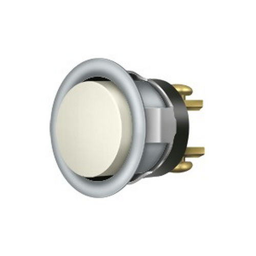 Deltana BBC20-REPLU26D Replacement Bell Button, Brushed Chrome