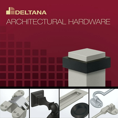 Deltana FPS234U26 Flush Pull Square 2-3/4