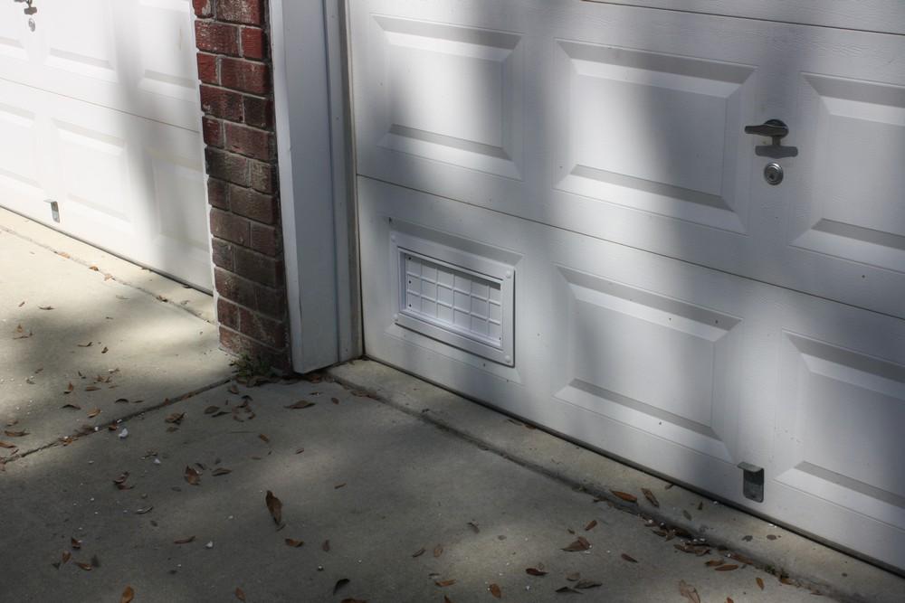 Flood Flaps Ffnf05gd W Garage Door Flood Vent White