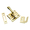 First Watch Security 1432 Casement Window Fastener, Polished Brass