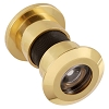 First Watch Security 2330 Jumbo Door Viewer 180 Degrees, Solid Brass