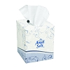 Georgia Pacific 465-80 Angel Soft ps Premium Facial Tissue, Cube Box, 36 Boxes