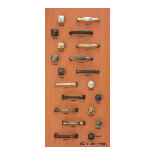 Hafele 732.08.385 Decorative Hardware Display Board, Medium Maple