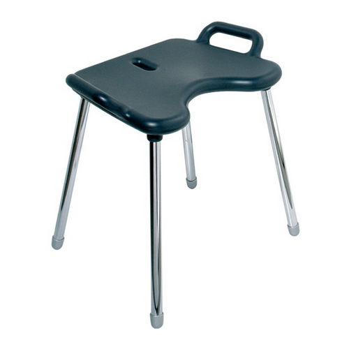 Hafele 988.83.792 Shower Stool, (330 lbs) 150 kg Capacity