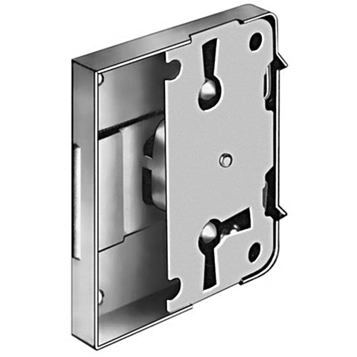 Hafele 211.01.735 Rim Lock, Nickel