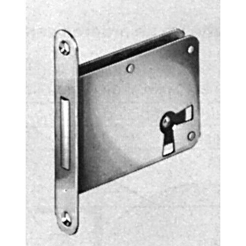 Hafele 213.01.217 Mortise Lock RH, Brass Plated