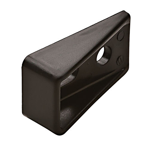 Hafele 234.91.092 Drawer Locking Wedge, Plastic Black
