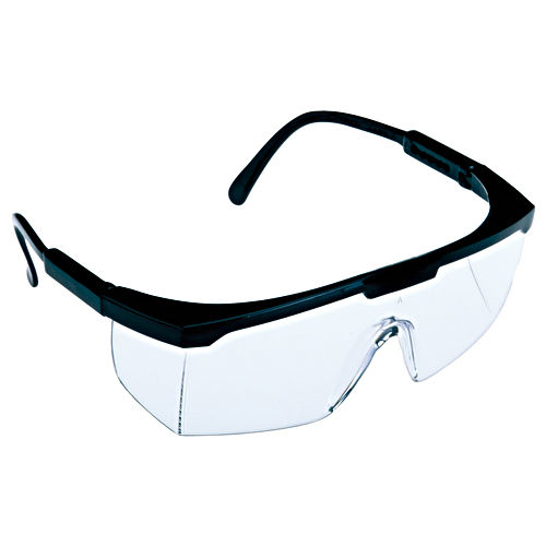 Hafele 007.48.050 Safety Glasses Squire Black Frame with Clear Lens