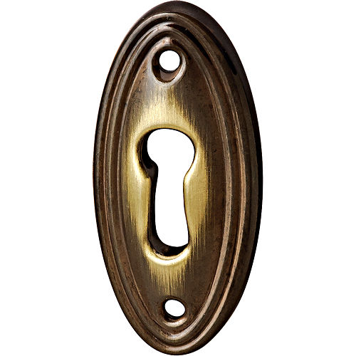 Hafele 118.20.189 Escutcheon, Bronzed and Brushed