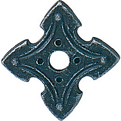 Hafele 120.94.390 Rosette, Antique Iron