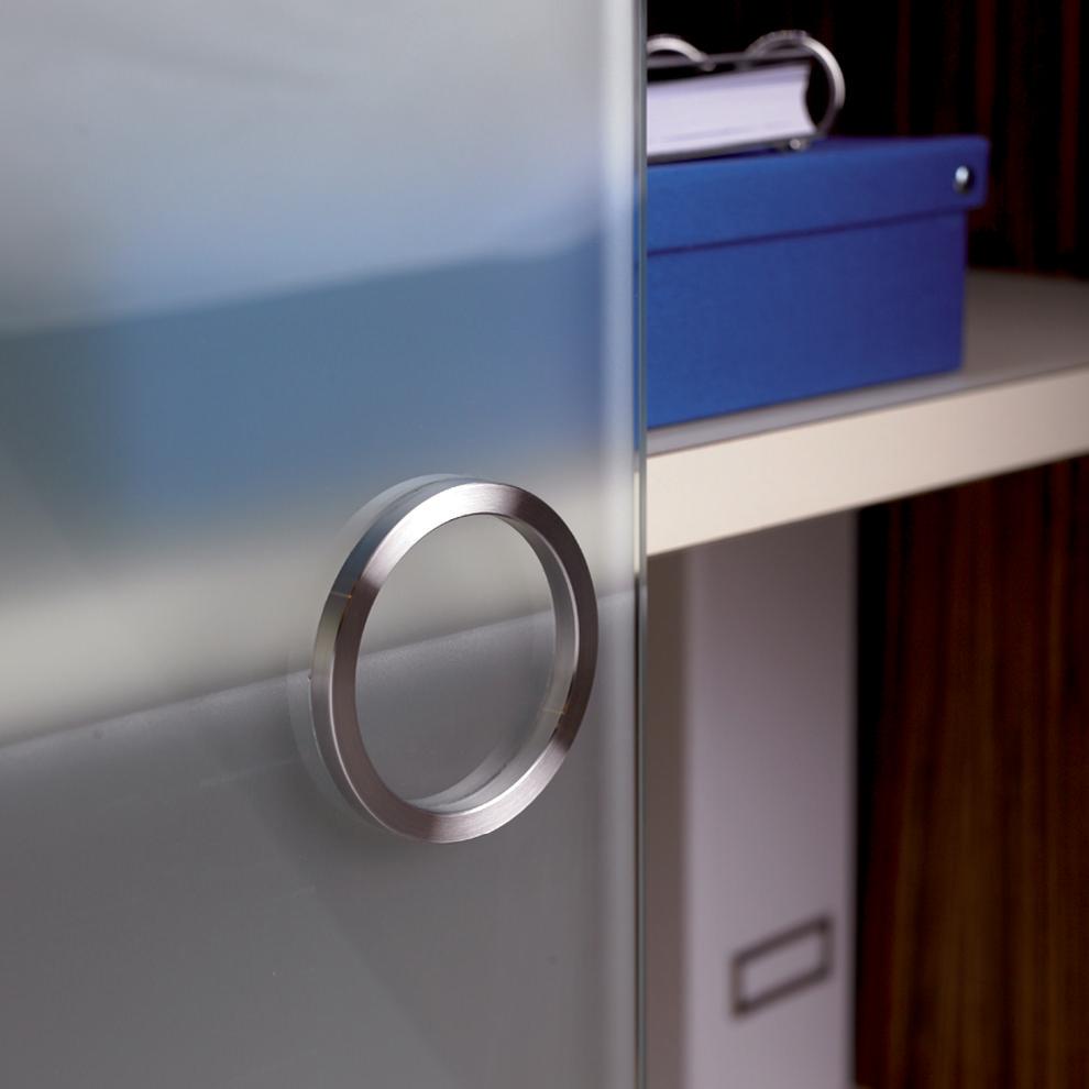 Hafele 15177001 Flush Glass Door Handle TheBuildersSupplycom