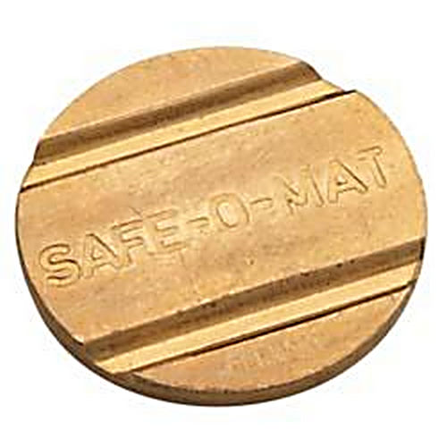 Hafele 231.53.998 Safe-O-Mat Brass Security Token #1073