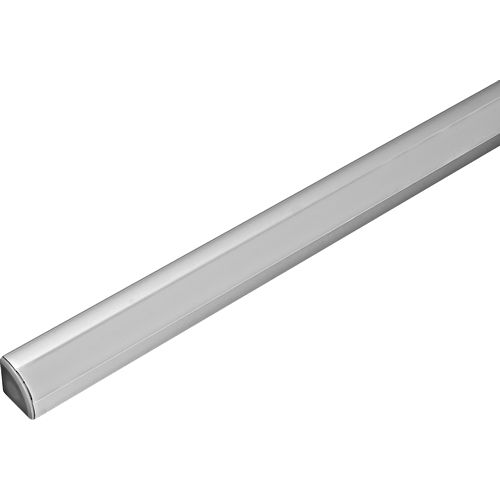 Hafele 833.74.809 Loox V3 Extrusion F/Led Corner with Milk Lens 28.5 x 19.5mm x 2.5M, Aluminum