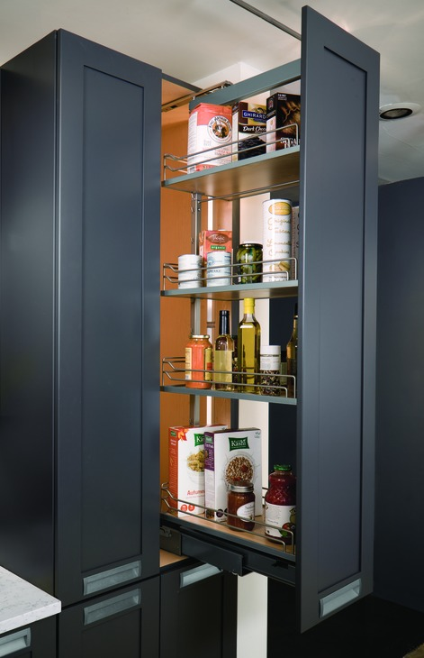 Hafele 546 62 813 Pull Out Pantry Frame Full Extension Thebuilderssupply