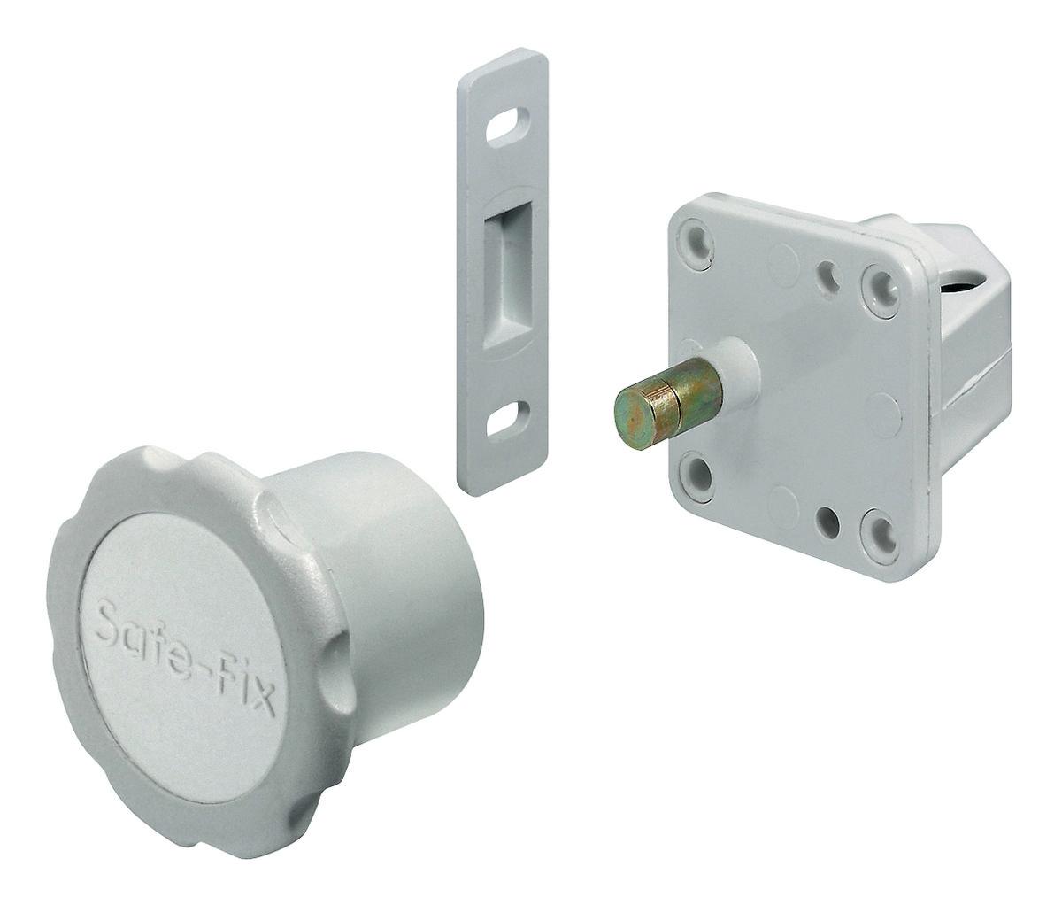 Hafele 245 41 791 Magnetic Door Lock Concealed Plastic