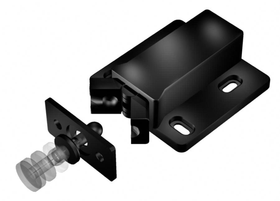 Hafele 245 50 310 Touch Latch Mini Non Magnetic Plastic