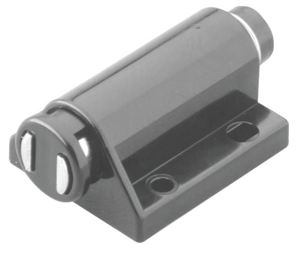 Hafele 245 80 310 Push Latch Magnetic Plastic Black
