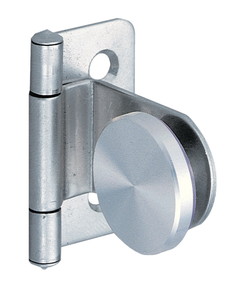 Hafele glass door hinge inset stainless for Window hinges