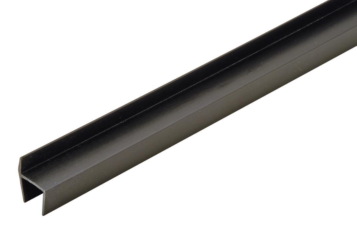 Hafele 422 72 391 Hanging File Rail Plastic Black