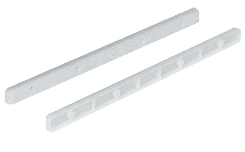 Hafele 430 15 701 Drawer Guide Rail Plastic White