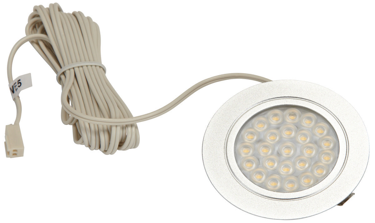 Hafele 830.64.030 Luminoso Led Metallic Gray Cool White  TheBuildersSupply.com
