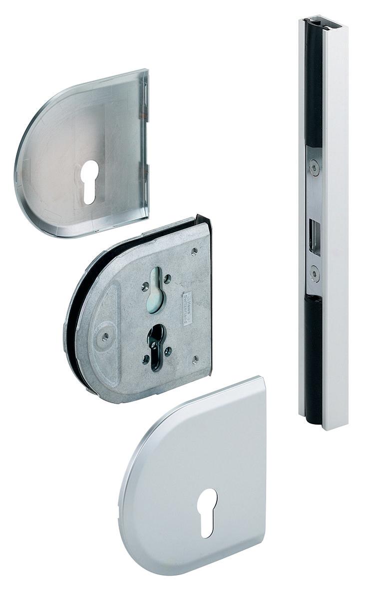Hafele 94124022 Toplock Sliding Glass Door Lock For Profile