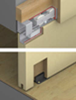 hafele hawa junior 120 b fitting set. Black Bedroom Furniture Sets. Home Design Ideas