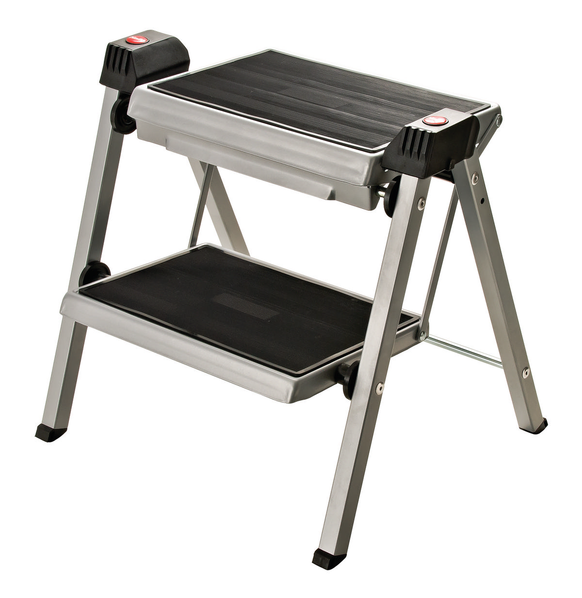 Hafele 505 04 210 Folding Step Stool Silver