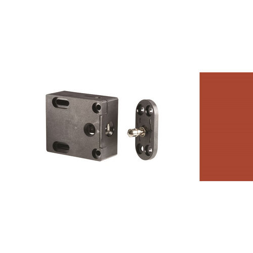 HES 610LM Cabinet Lock for Wood or Glass Cabinets
