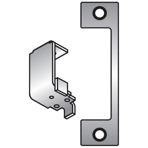 HES HTD-630 Faceplate for 1006 Series, Satin Stainless Steel
