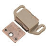Hickory P110-TP Tan Plastic Magnetic Catch 1-5/8
