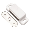 Hickory P650-W White Small Magnetic Catch 1-1/2