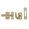 IDH 21013-004 Small Casement Fastener, Satin Brass