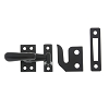 IDH 21013-019 Small Casement Fastener, Matte Black