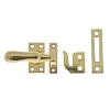 IDH 21014-003 Large Casement Fastener, Polished Brass
