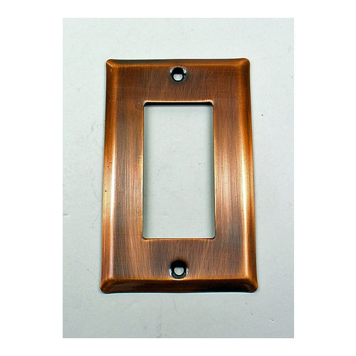 IDH 28054-10B Square Single Gfci Plate, Oil-Rubbed Bronze