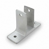 Jacknob 1623 Wall Bracket Two Ear 3/4
