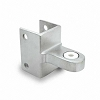 Jacknob 3863 Hinge Bracket Top-Knick Laminate, Stainless Steel