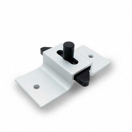 Jacknob 4988 Latch Slide Angle Bar Clear Anodized