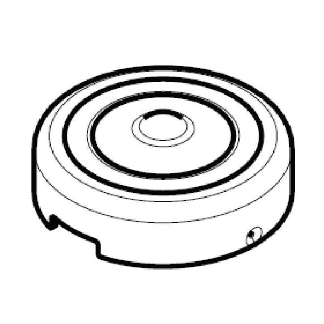 kwikset 82215 screw cap  cover  satin chrome
