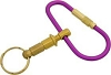 Malibu Keyrings R-101 Purple Quick Release Screw Key Ring