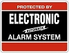 Maxwell DY103 Electronic Alarm Decal 4