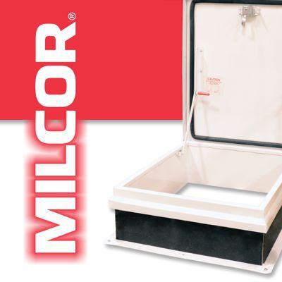 Milcor 3512 135 9 Floor Doors Extruded Aluminum Tile Terrazzo Or Flush Cover Primed Steel Single Leaf 36