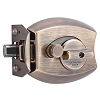 Millennium Lock 3000AB Deadbolt Ultimate Lock, Antique Brass