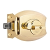 Millennium Lock 3000PB Deadbolt Ultimate Lock, Polished Brass