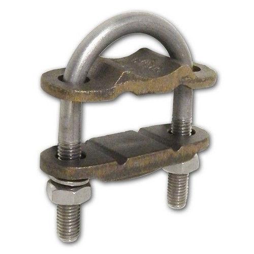 Morris copper ground clamp u bolt conductor