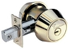 MUL-T-LOCK 206XP-HD2-19 Grade 1 Deadbolt Cylinder Deadbolt Satin Nickle